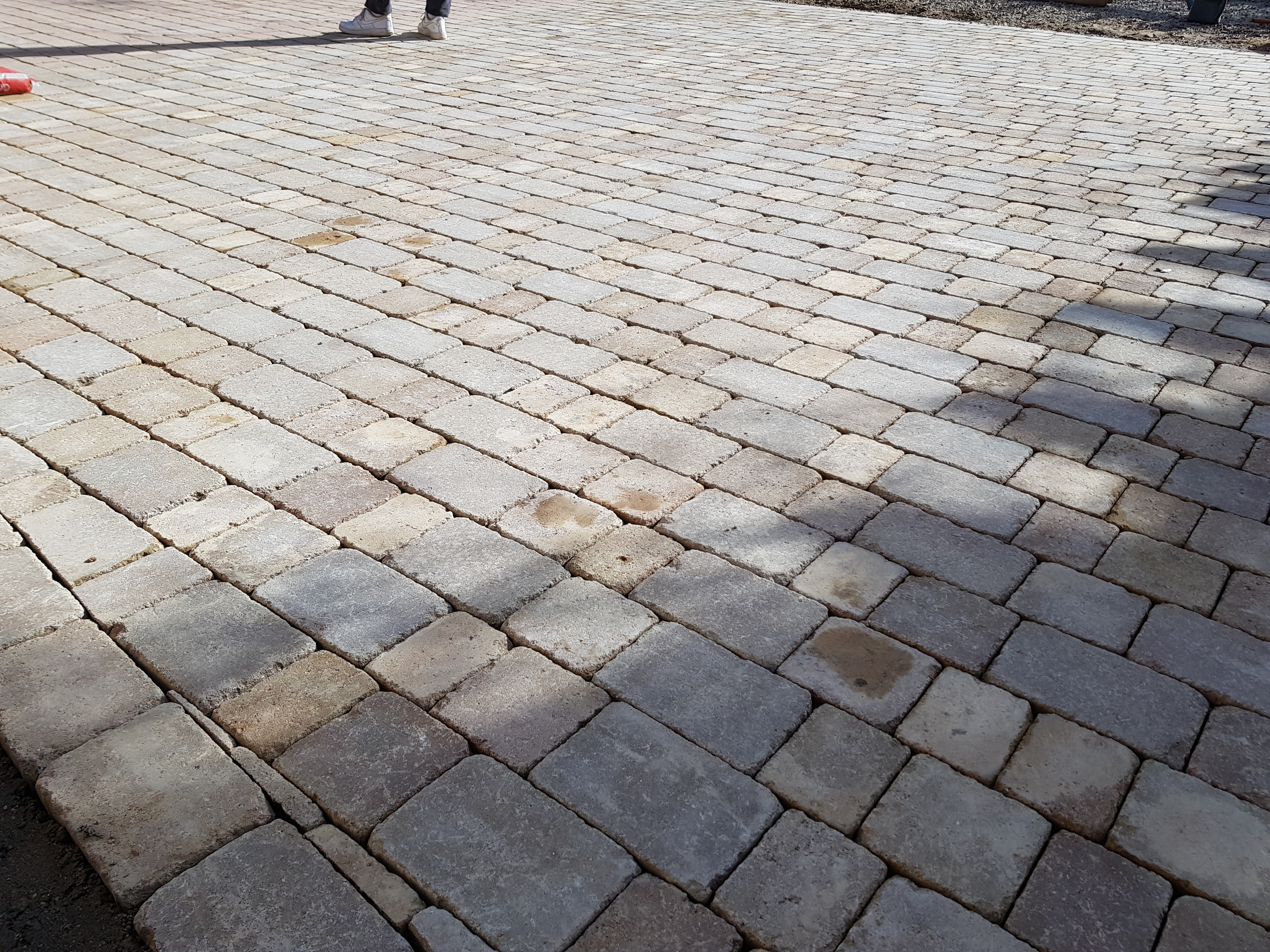 Block Paving Install Completed in Werrington Village - Peterborough Improvements