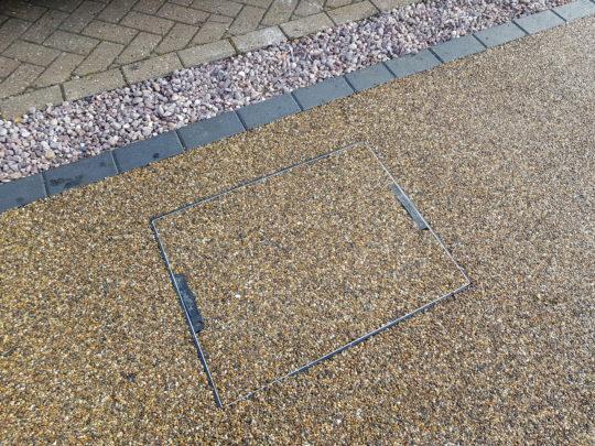 Recessed Resin Manhole