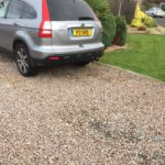 Before Resin Bound Driveway Installation