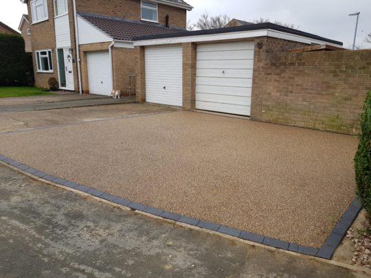 Resin Bound Driveway in Stilton