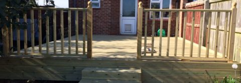 Peterborough's No.1 Decking Installers