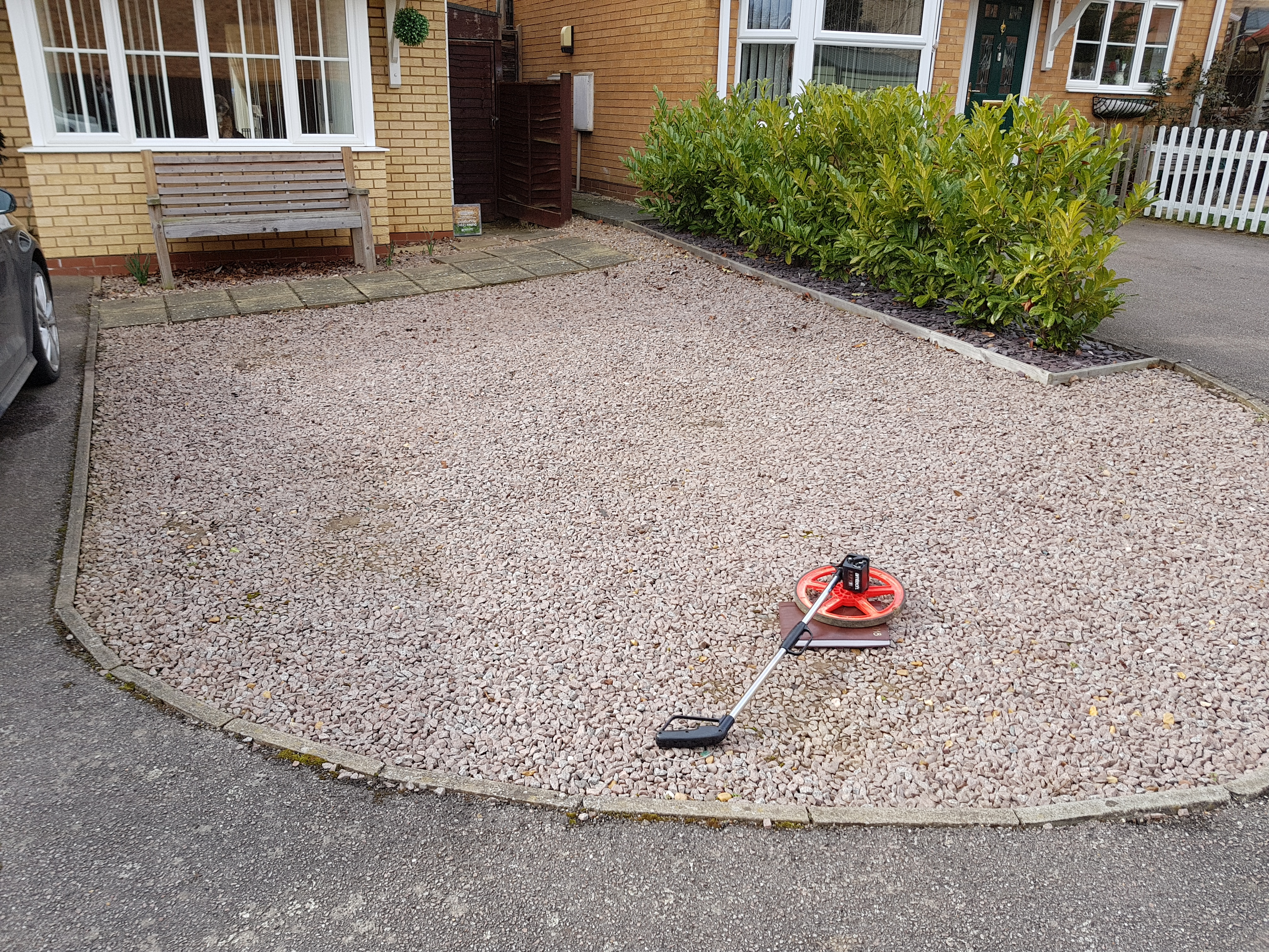 Before Resin Driveway Install