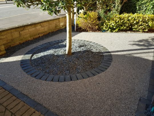 Werrington Village Resin Bound Garden