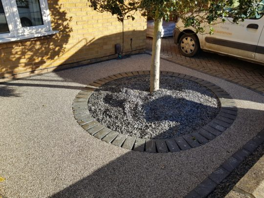 Resin Bound Drive Werrington Village Peterborough