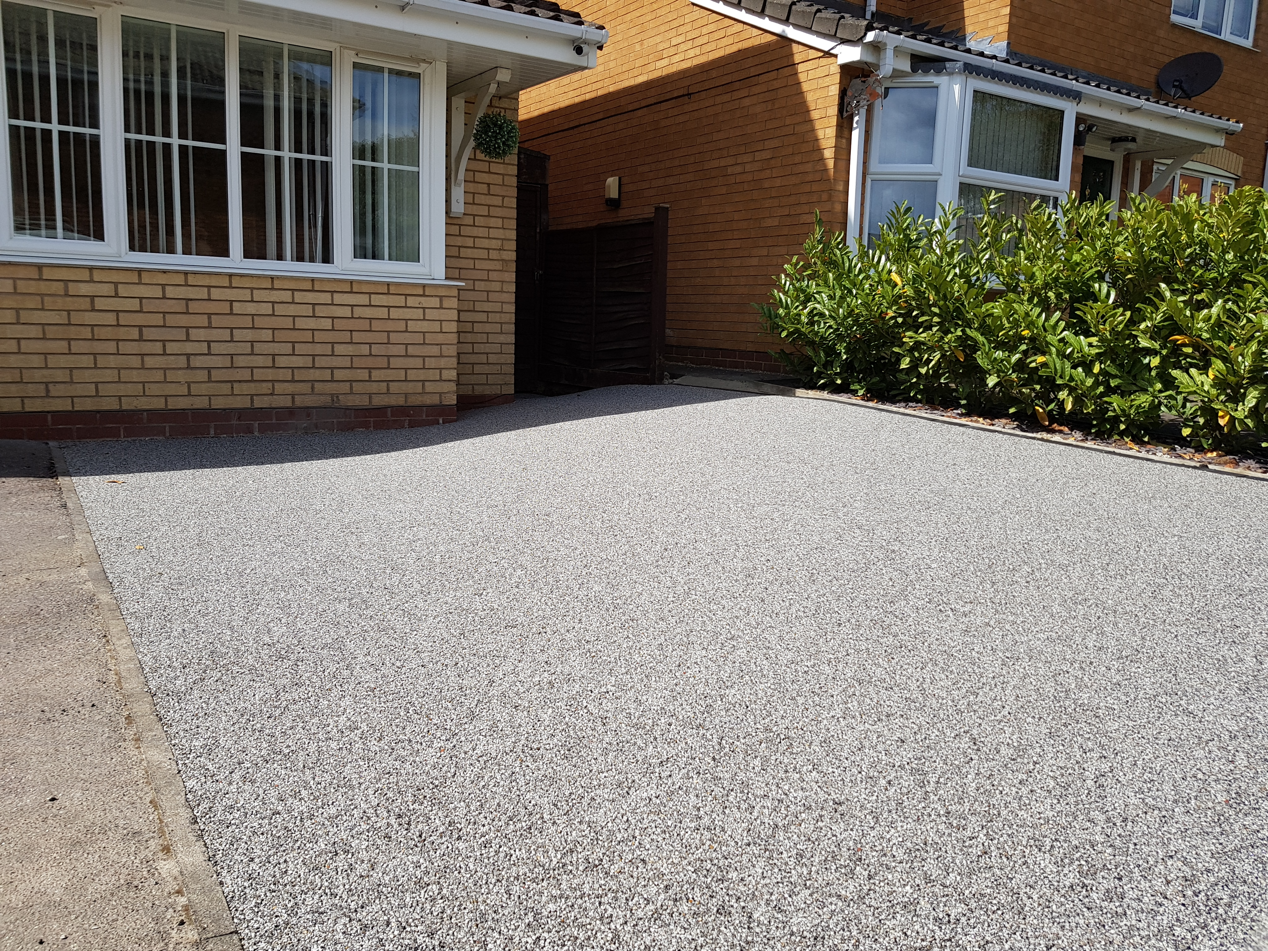 Resin Driveway in Park Farm Stanground