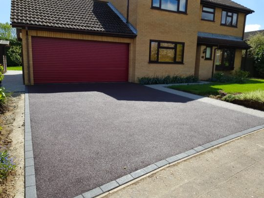 Resin driveway in Orton Wistow Peterborough