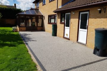 Resin Bound Patio in Orton Wistow