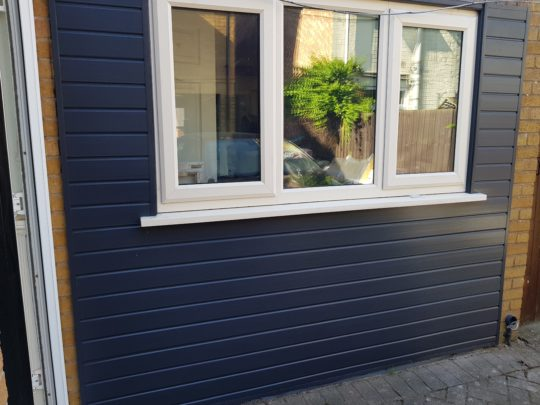 Grey UPVC Cladding
