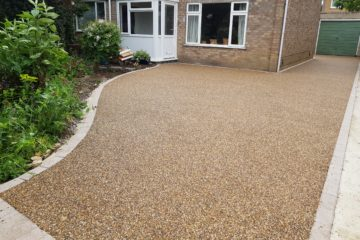 Resin Driveway in Mead Way Market Deeping