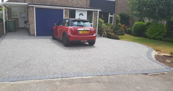 Resin Bound Driveway Installed In Cottesmore
