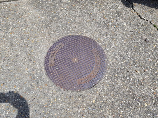 Old Manhole Cover