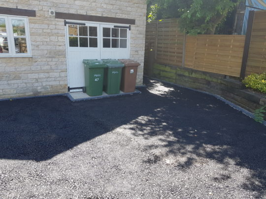 Bitumen Installed in Maxey for Resin Bound Driveway