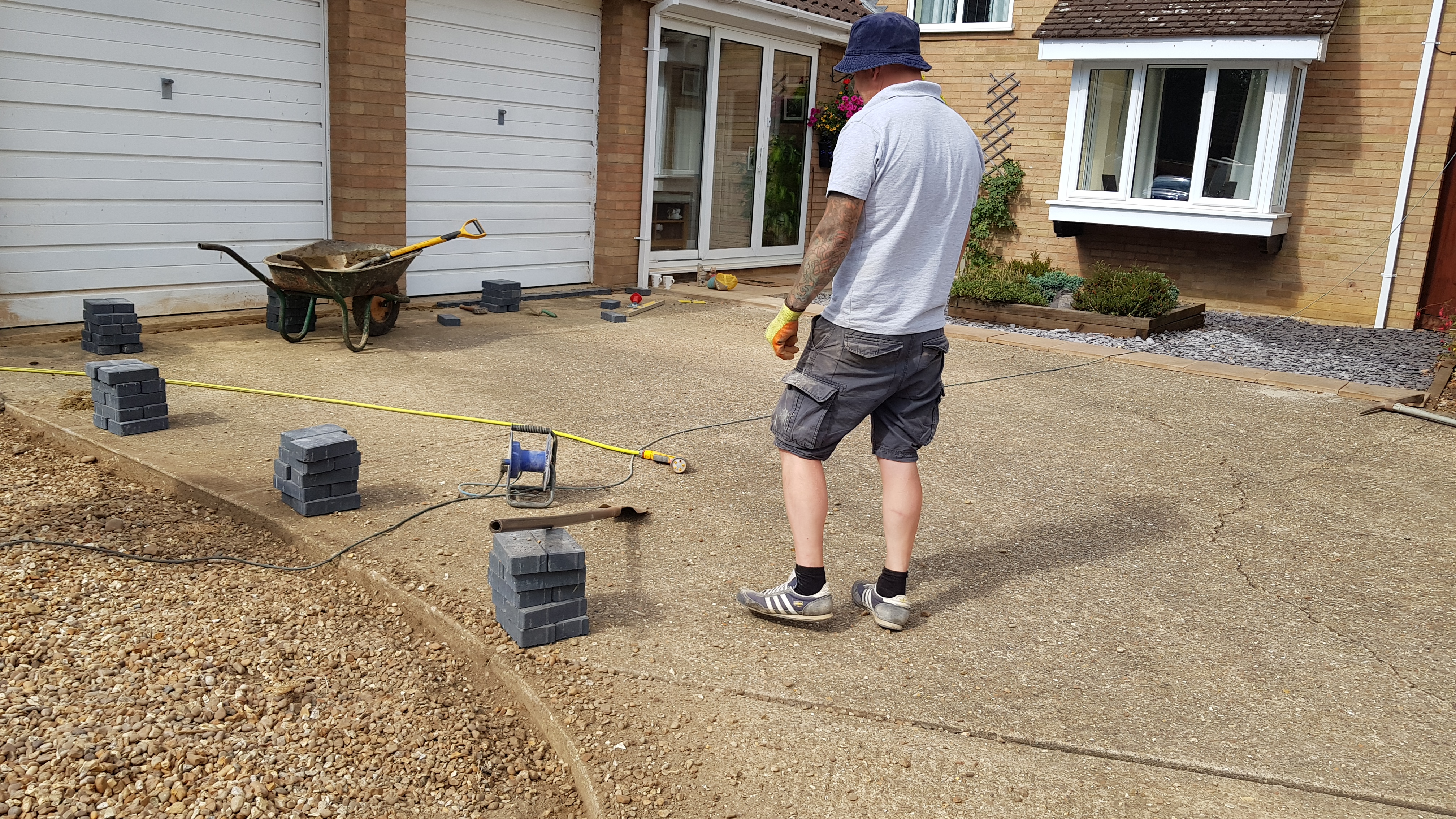 Resin Bound Driveway Overlay