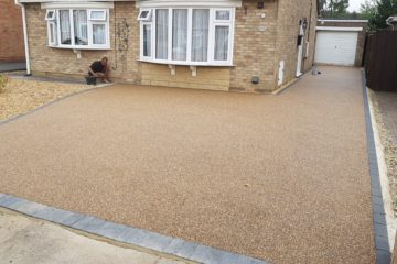 Resin Bound Driveway installed in Gunthorpe Peterborough