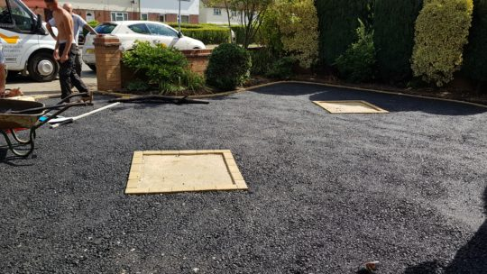 Bitumen installed for Resin Driveway