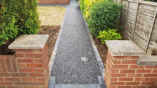 New Resin Bound Pathway