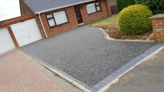 Resin Bound Driveway Ellwood Avenue Stanground