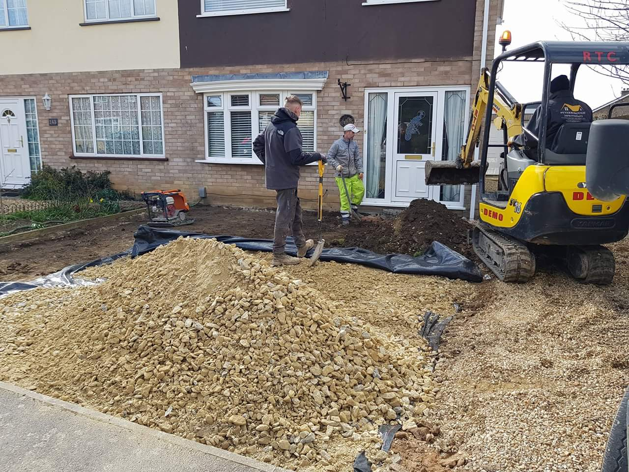 Resin Bound Pathway and Gravel Driveway Install Gunthorpe