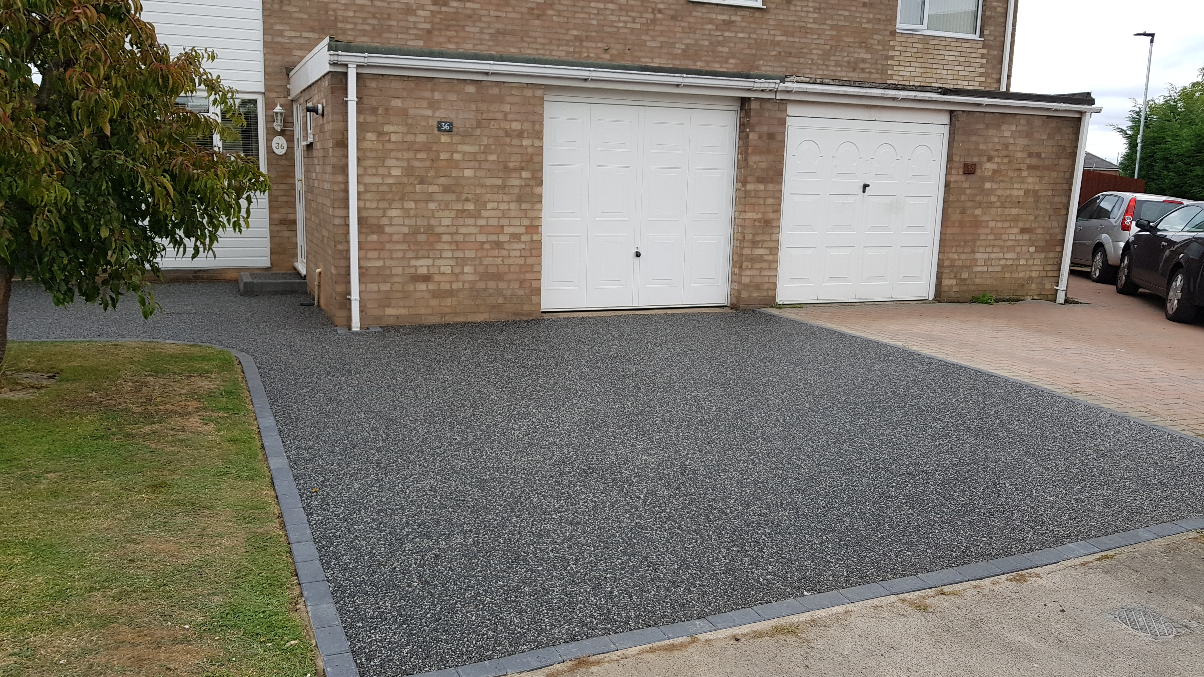 Finished Driveway Install