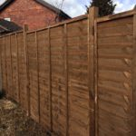 Waney Panels installed in Peterborough