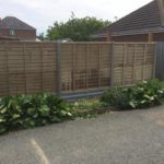 Cheaper Waney Panels installed in Peterborough