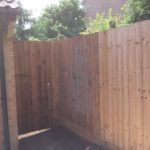 Straight Through Featheredge Fencing