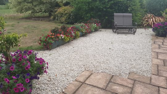 Before Resin Bound Install in Wisbech