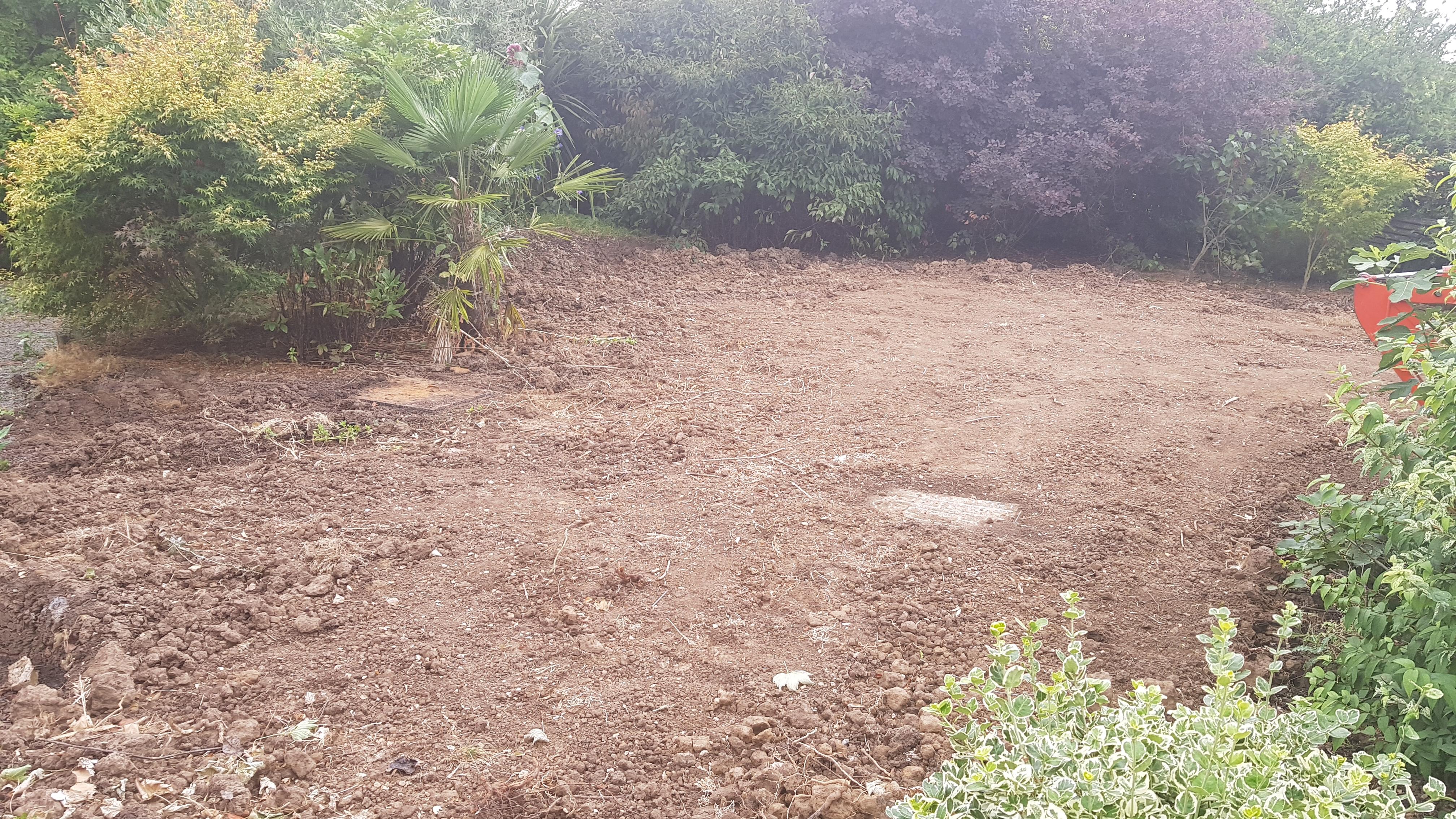 Garden Excavation