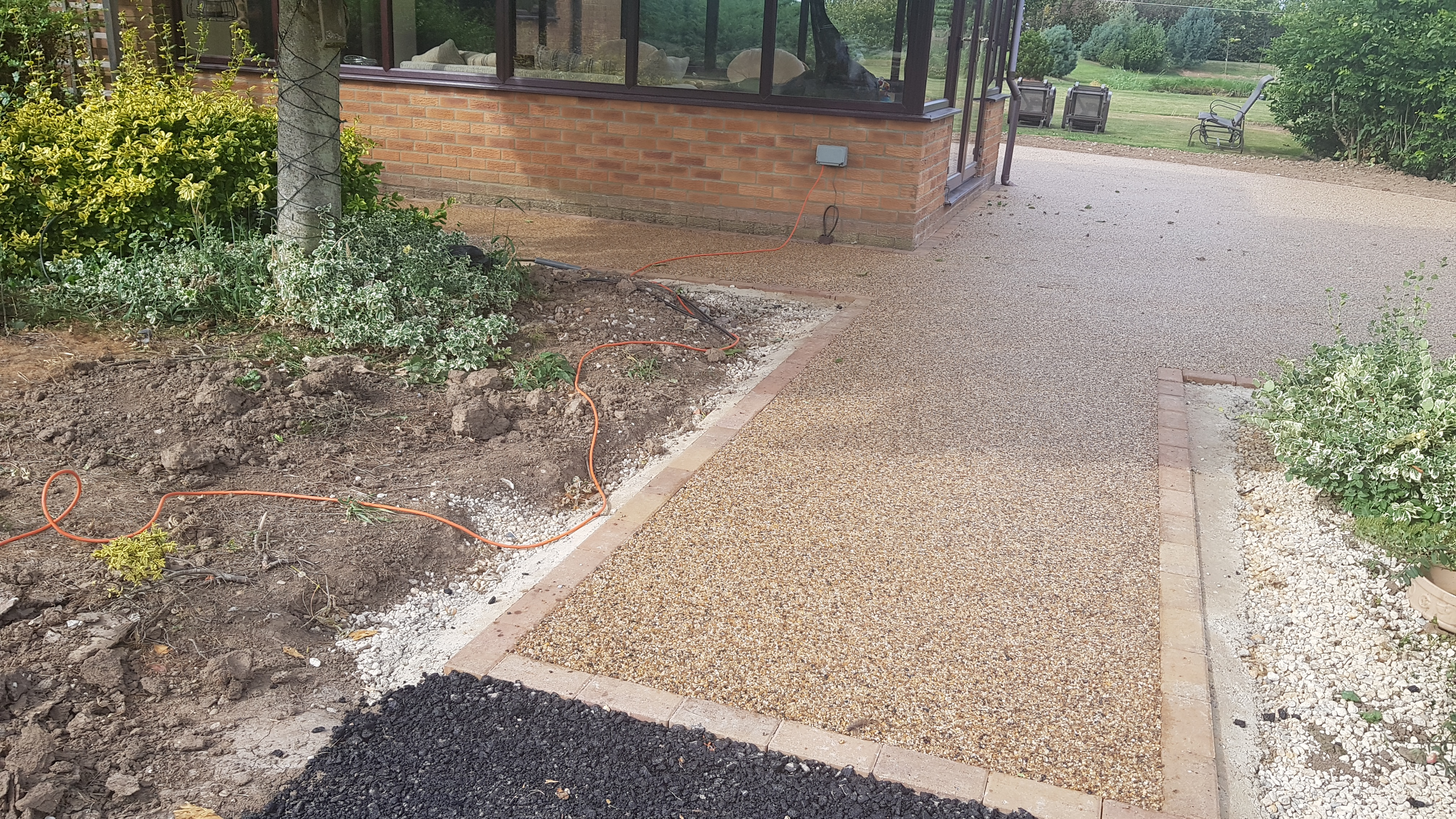 Resin Bound Install in Wisbech