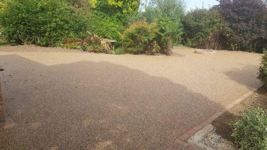 Large Resin Garden Install