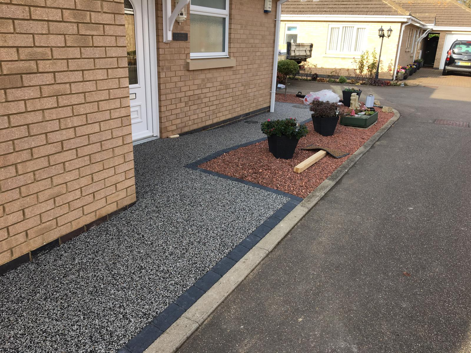 Resin Bound Pathway installed in Whittlesey