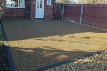 Resin Bound Driveway Installed in March