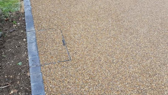 Recess Resin Bound Driveway