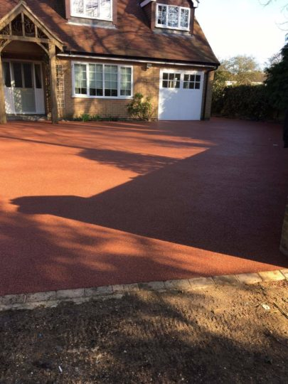 Resin Bound Driveway Completed in Glinton