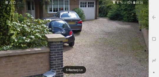 Before Resin Bound Driveway Install in Glinton