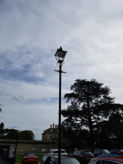 Street Lamps Installed at Sue Ryder Thorpe Hall