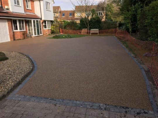 Resin Bound Installation in Orton Wistow