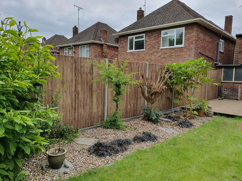 New Fencing installed in Charnwood Close