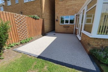 Resin Bound Patio in Eye