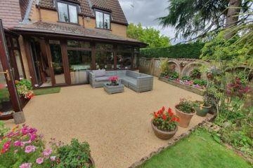 Resin Bound Patio installation in Werrington