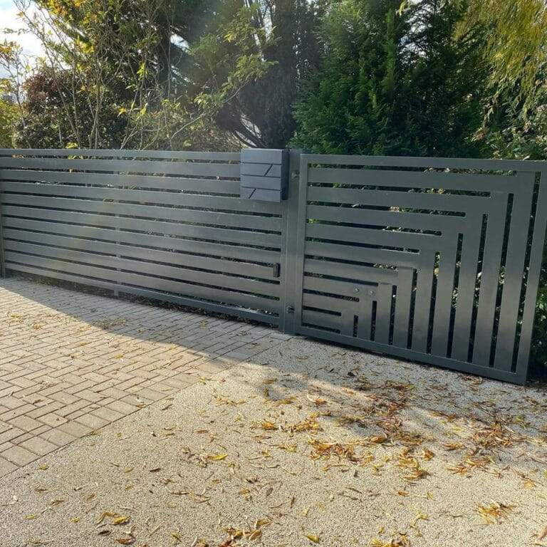 Designer railings fabricated in Peterborough