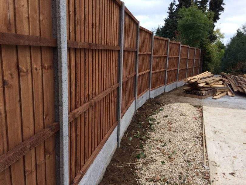 Wooden or Concrete Fencing Posts?