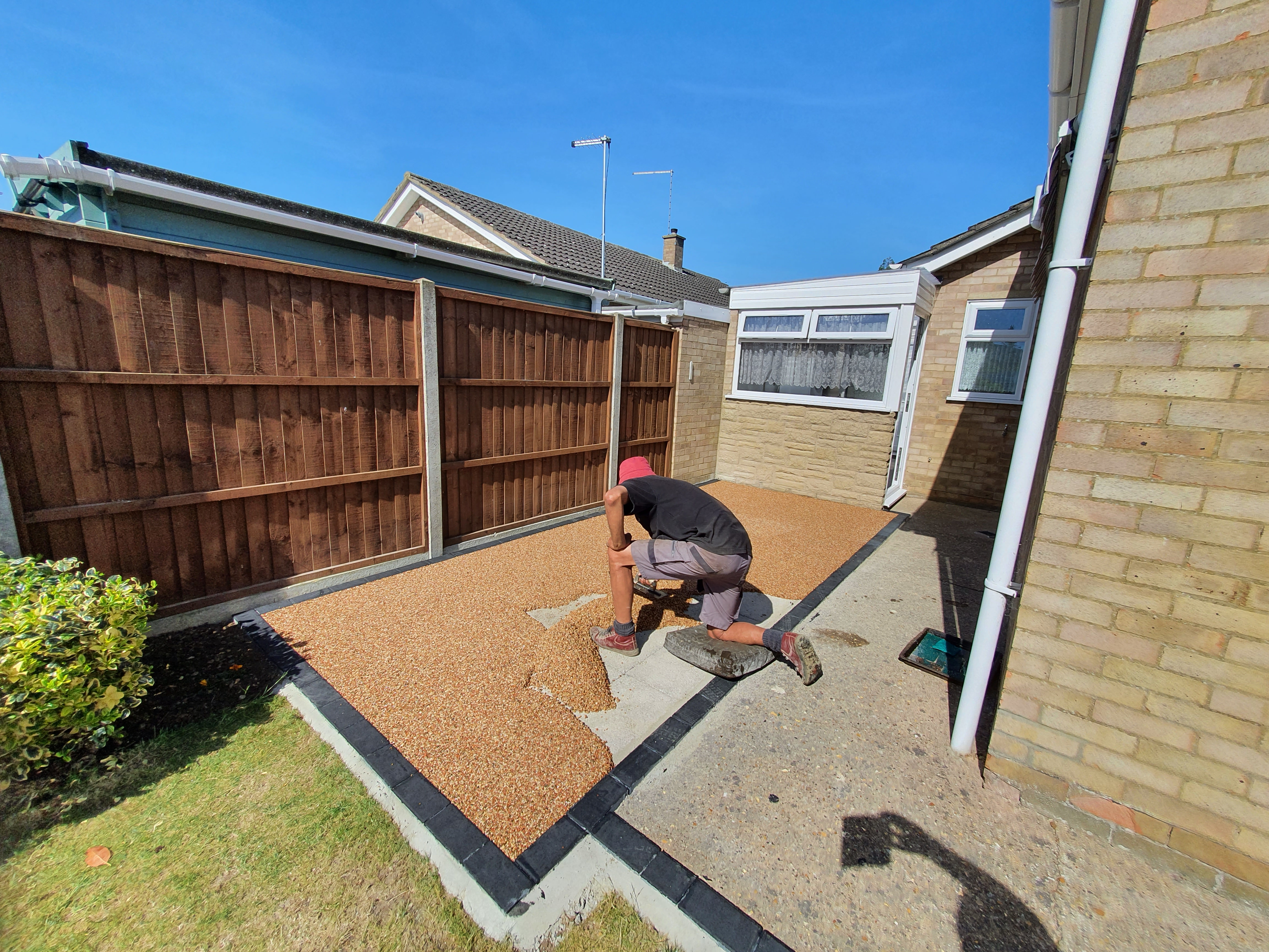 Resin Being Installed in Whittlesey