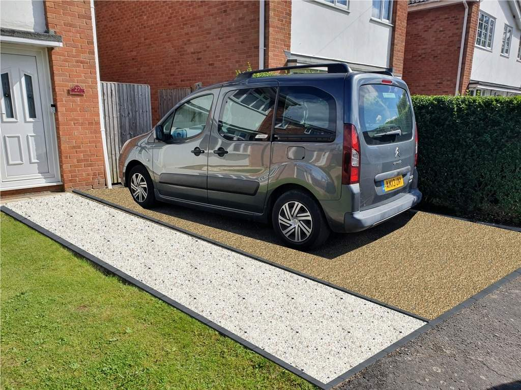 Design Mock For Resin Driveway