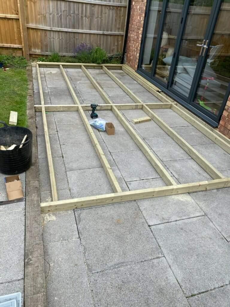 Decking Framework Peterborough