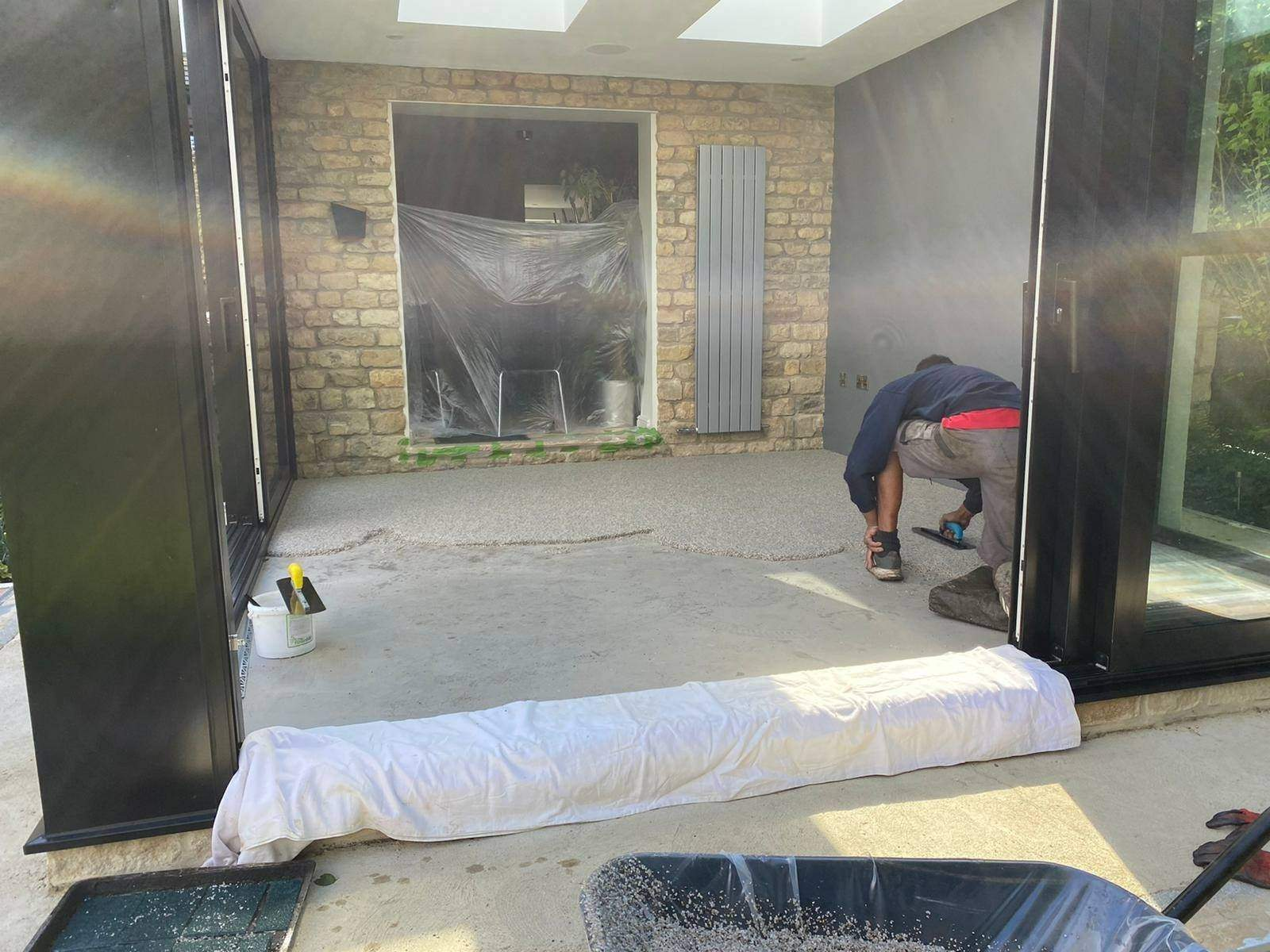 Resin Bound Conservatory Floor
