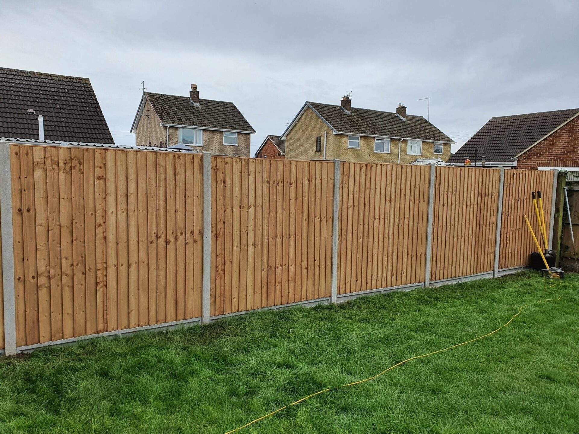 Featheredge Fencing Install Whittlesey