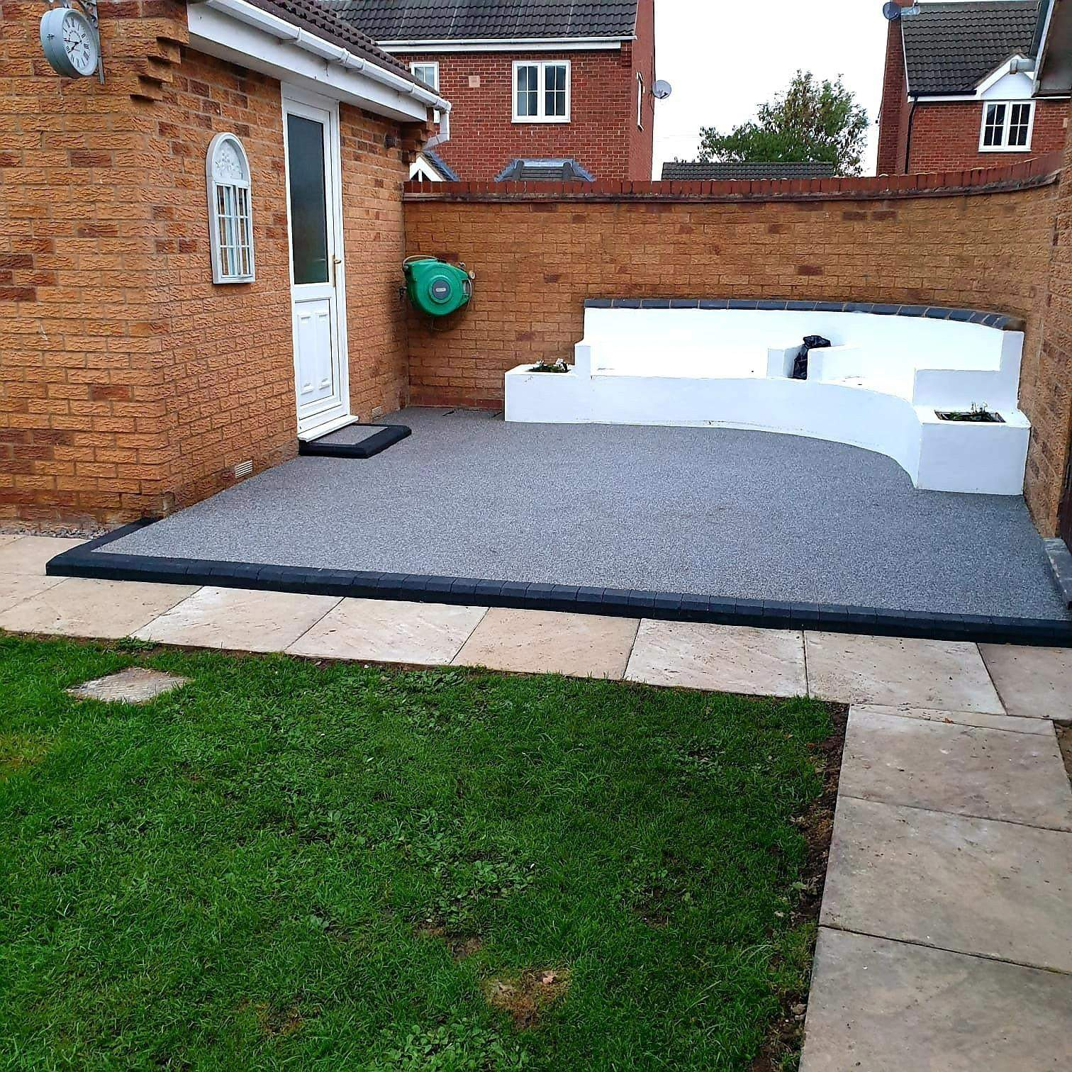 Resin Bound Patio Completed in Crowland