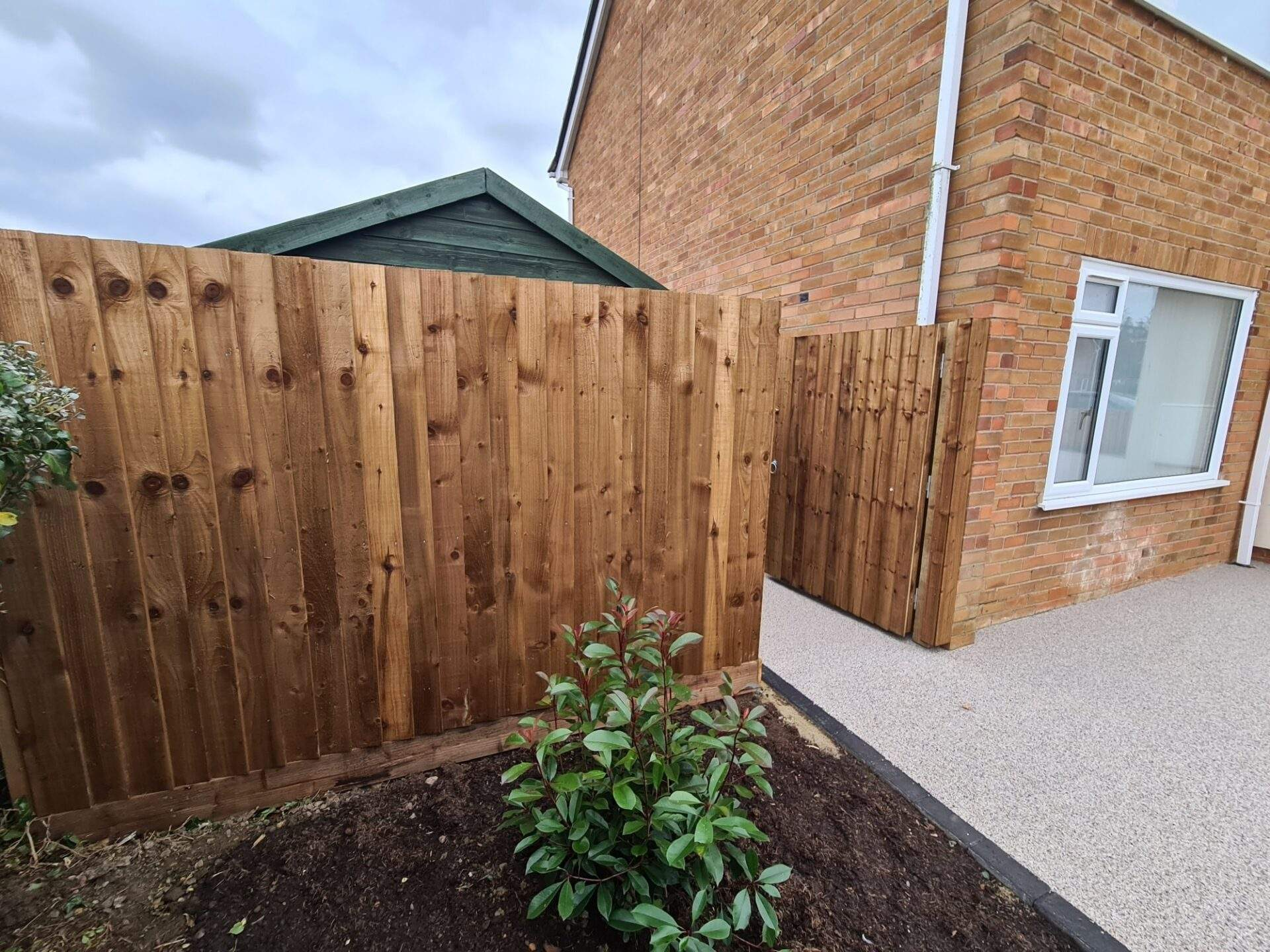 Straight Through Featheredge Installed in Market Deeping