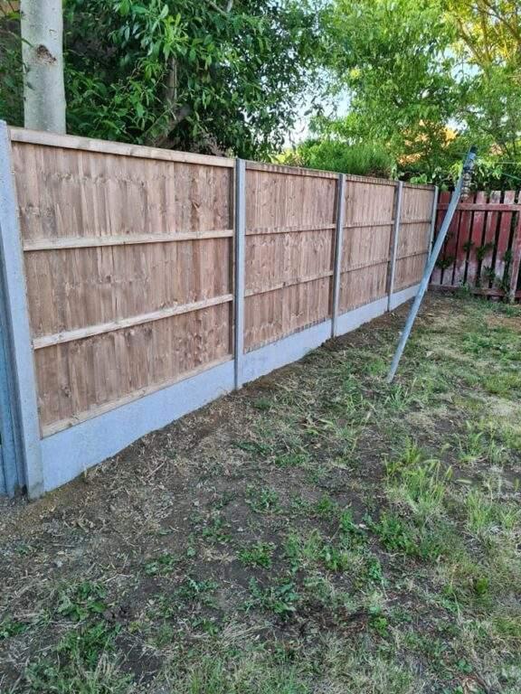 Closeboard Fencing Panels installed in Werrington
